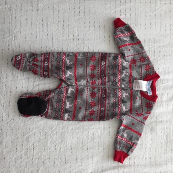 b10700c7c076 Infant Christmas fair isle print onesie. M_5ab6ad9a46aa7c55451921ba